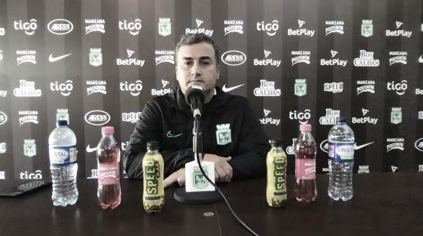 """Juan David Pérez: """"Estamos con el optimismo de en el 2021 darle alegrías a nuestra hinchada"""""""