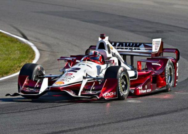 La suerte no estuvo con Juan Pablo Montoya y puso en riesgo su liderato en la Indycar