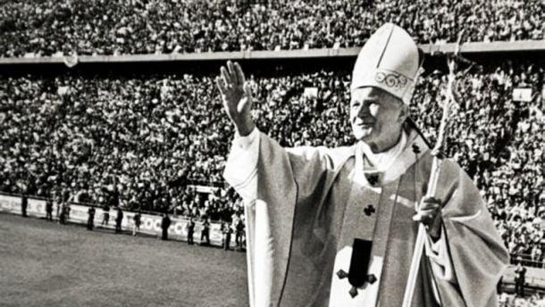 La visita del Papa Juan Pablo II