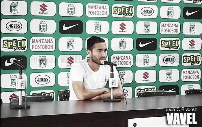 """Juan Pablo Nieto: """"Yo puedo jugar como extremo, si me van poniendo puedo desarrollar el juego"""""""