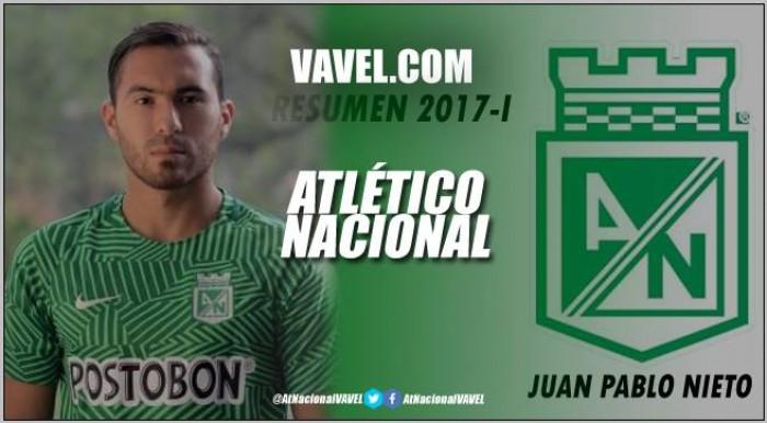 Resumen Atlético Nacional 2017-I: Juan Pablo Nieto, fundamental en la estrella 16