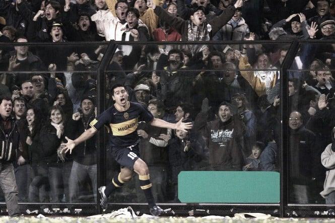 Copa Libertadores 2007: Boca le ganaba a Gremio 3-0 en la final