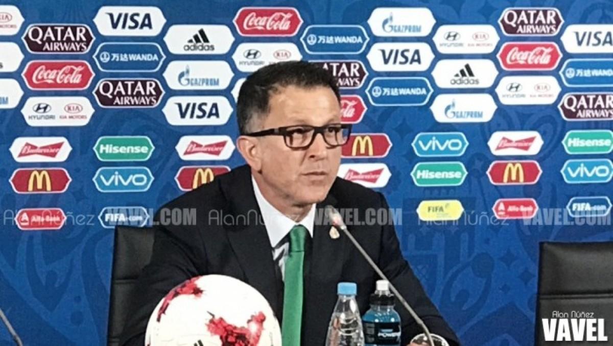 Juan Carlos Osorio y su primer Mundial en las riendas de una Selección
