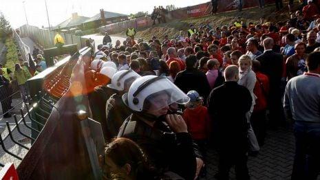 La Federación podría ser expedientada por la UEFA por los incidentes con los aficionados españoles en Gniewino
