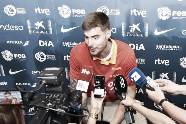 """Juancho Hernangómez: """"Creo que voy a tener más minutos en Málaga"""""""