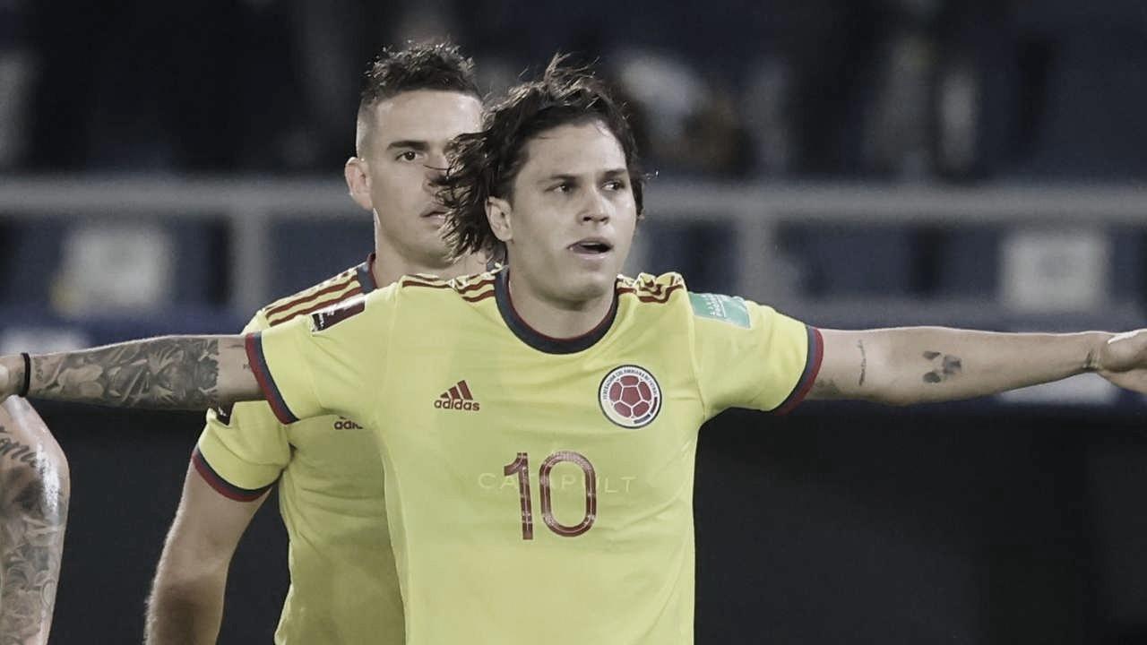 Juan Fernando Quintero y su destacada actuación contra Chile