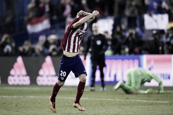 Atletico Madrid (8) 0-0 (7) PSV: Juanfran sends Atleti into last 16 of Champions League