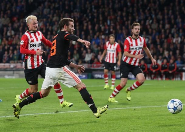 Risultato Manchester United - PSV Eindhoven (0-0), Champions League 2015/16