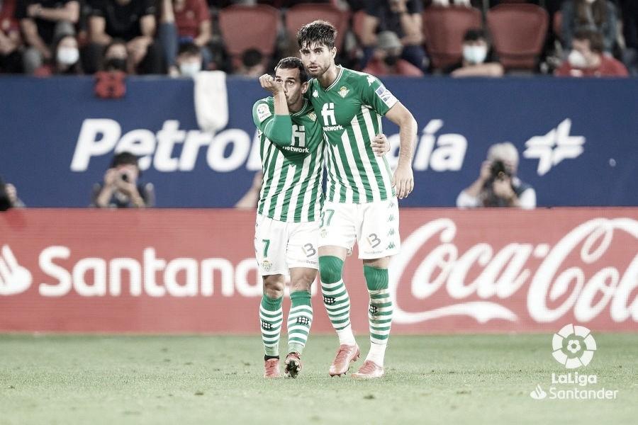 CA Osasuna – Real Betis Balompié: puntuaciones del Real Betis, 6ª jornada de LaLiga Santander
