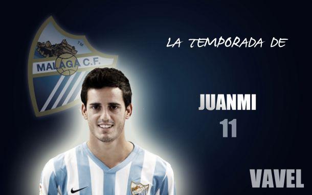 Málaga 2014/2015:la temporada de Juanmi