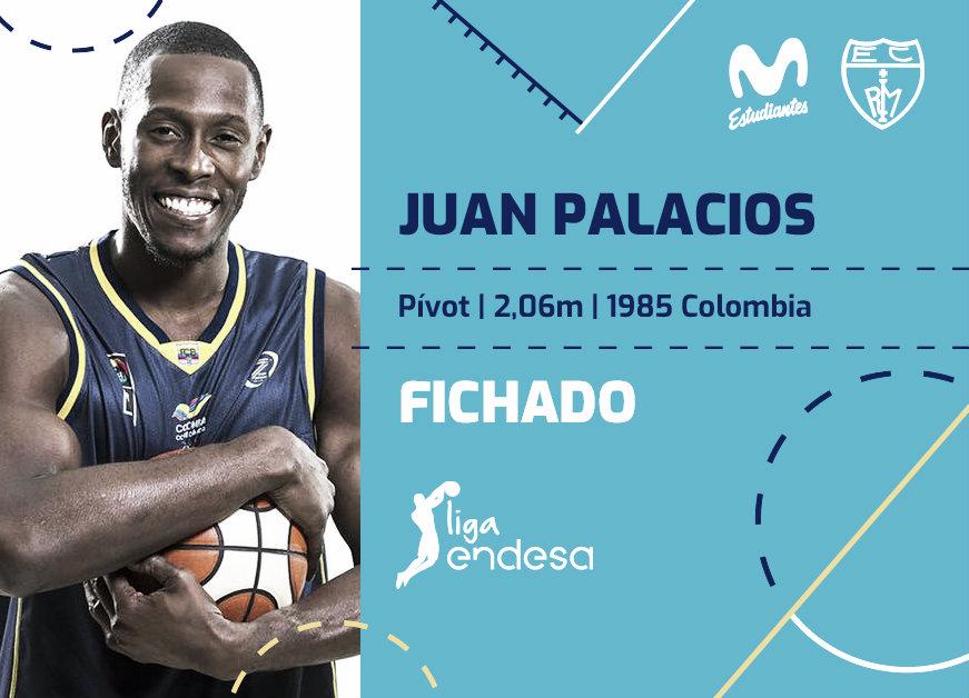 Juan Palacios, nuevo jugador del Movistar Estudiantes