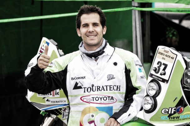 El colombiano Juan Sebastián Toro competirá en el Dakar 2015
