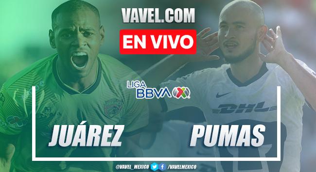 Resumen y goles FC Juárez 4-4 Pumas en Clausura 2020 LigaMX