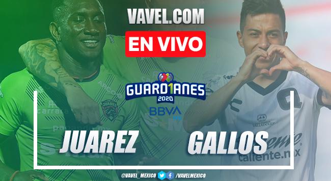 Goles y resumen: FC Juárez 1-0 Querétaro en Guardianes 2020