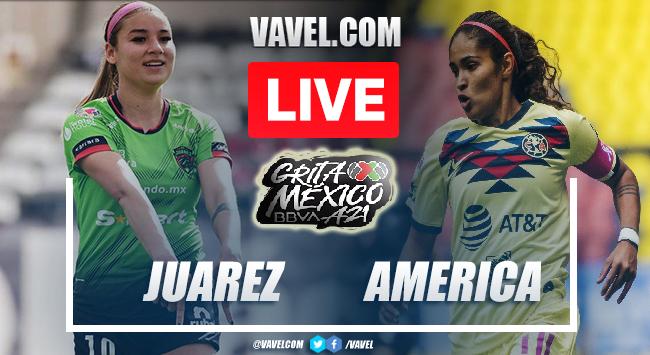 Goals and Highlights: Juarez femenil 1-1 America femenil in Liga MX Femenil
