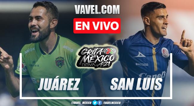 Gol y resumen del FC Juárez 1-0 Atlético San Luis en Liga MX 2021