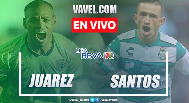 Resumen y goles: FC Juárez 1-2 Santos en Liga MX 2020
