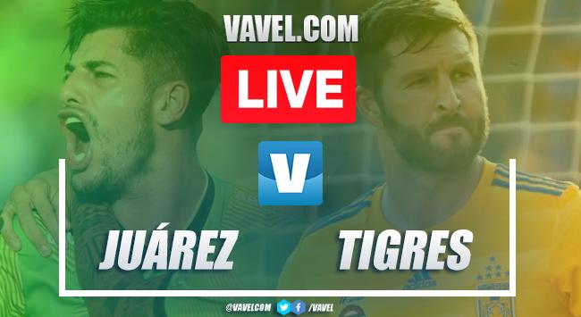 Goals and Highlights: FC Juárez 1-2 Tigres, 2019 Liga MX