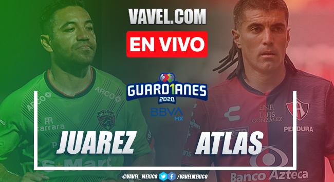 Gol y resumen: FC Juárez 0-1 Atlas en Guard1anes 2020