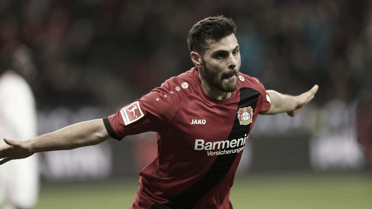 Artilheiro do Bayer Leverkusen na Bundesliga, Kevin Volland é desfalque por três meses