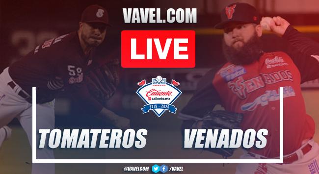 Highlights and Runs: Tomateros 3-2 Venados, Game 5 Final LMP 2020