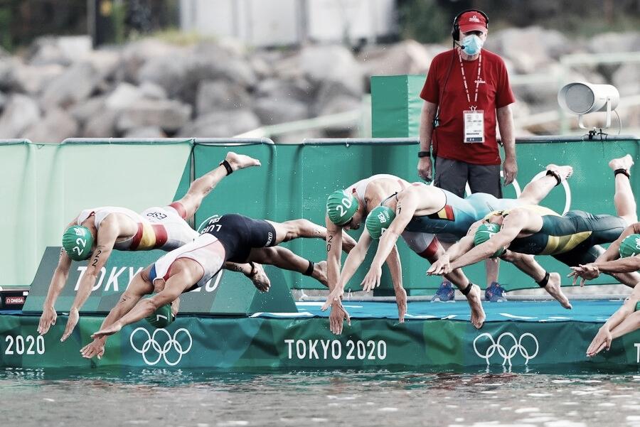 Resumen Triatlón masculino en Tokyo 2020