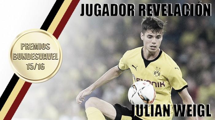 Jugador revelación de la Bundesliga 2015/16: Julian Weigl
