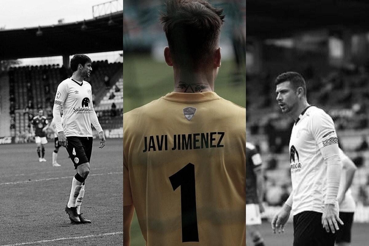 El Salamanca CF anuncia las bajas de Luis Madrigal, Javi Jiménez y Jonathan Lacerda