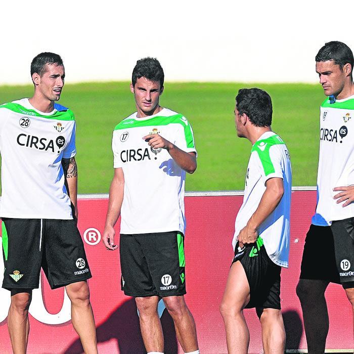 Nosa y Paulao entrenan con el grupo
