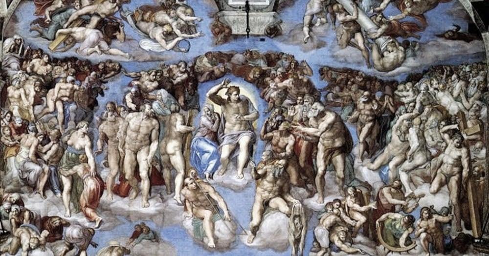 Miguel Ángel y los desnudos de la Capilla Sixtina