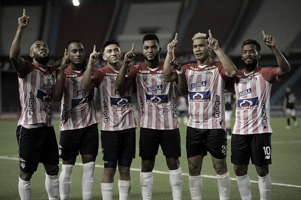 Junior goleó a Caracas y avanzó en Copa Libertadores