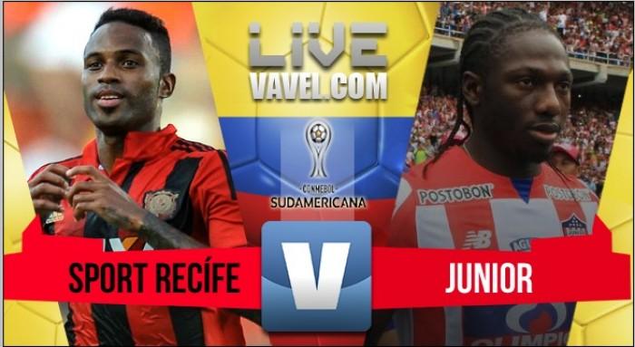Con solvencia, Junior se llevó una histórica victoria de Recife (0-2)