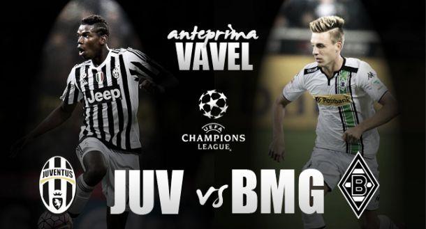 Juve, notte di Champions: a Torino arriva il Borussia Moenchengladbach