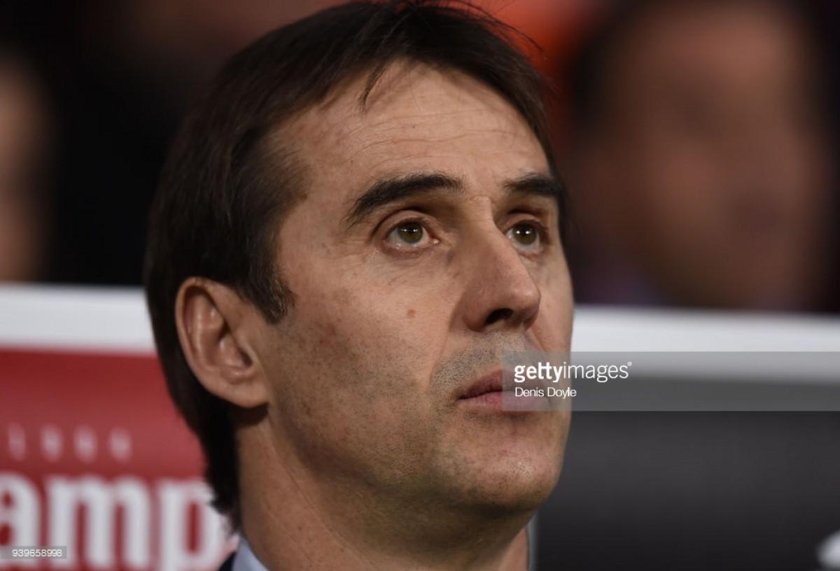 Spain sack manager Julen Lopetegui on eve of World Cup