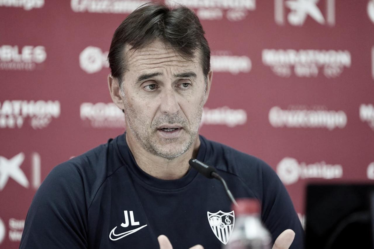 """Lopetegui: """"El Eibar es un equipo bien entrenado y con experiencia"""""""