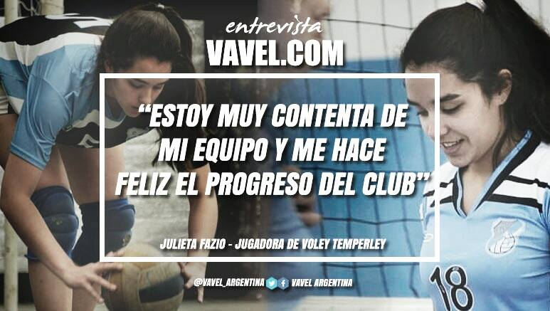 """Entrevista. Julieta Fazio: """"Tenemos un equipo más firme y podemos hacer más cosas"""""""