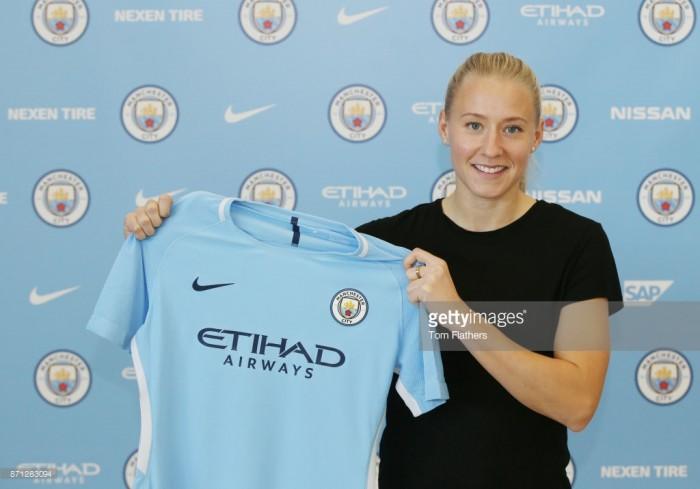 Manchester City sign Swedish International Julia Spetsmark