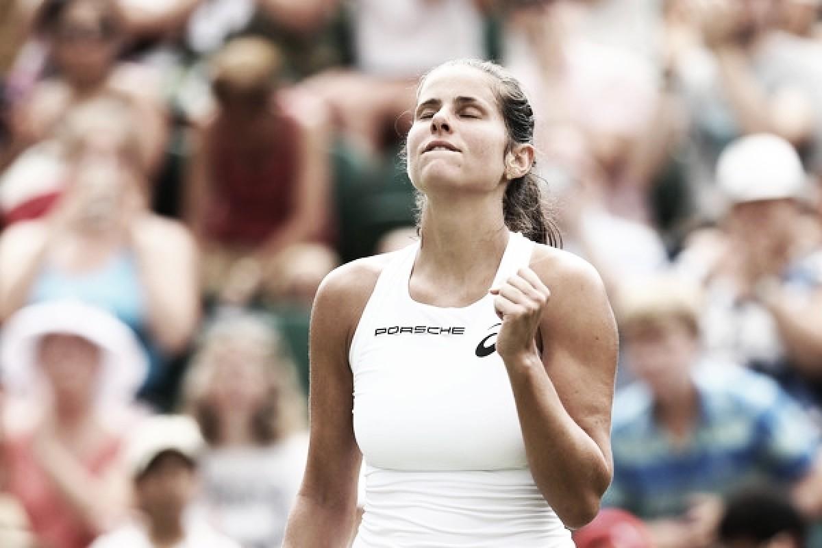Goerges avanza y sueña en Wimbledon