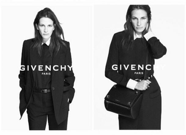 Julia Roberts, la nueva imagen de Givenchy