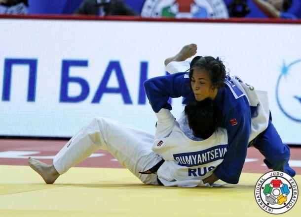 Fran Garrigós y Julia Figueroa sin suerte en el mundial de judo