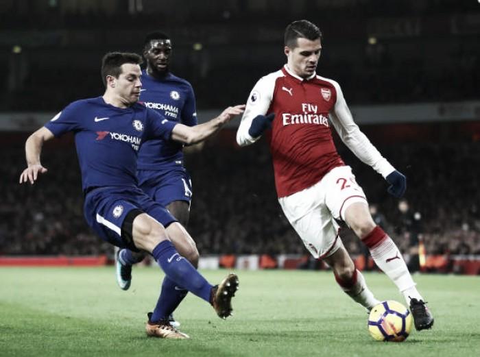 Arsenal toma virada, empata no fim e Chelsea perde chance de ampliar vantagem para rivais
