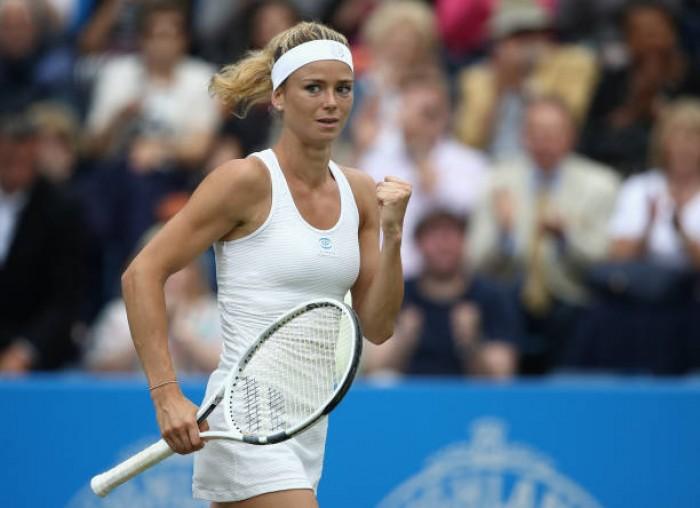 WTA Birmingham: Impressive Camila Giorgi upsets Elina Svitolina