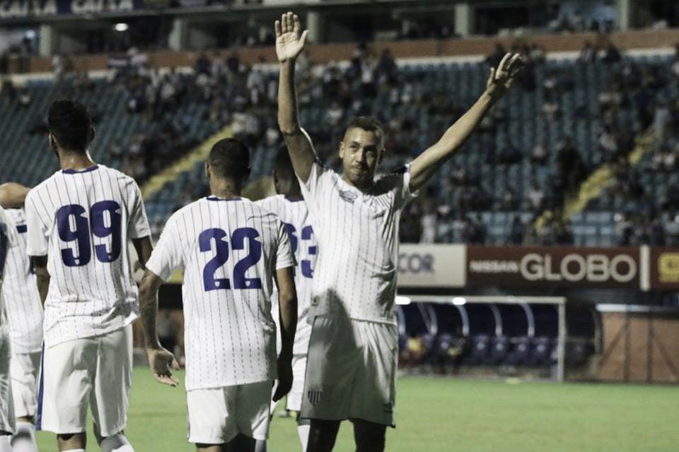 """Julinho marca pela primeira vez em sua terceira passagem no Avaí: """"Muito bom retornar desta forma"""""""