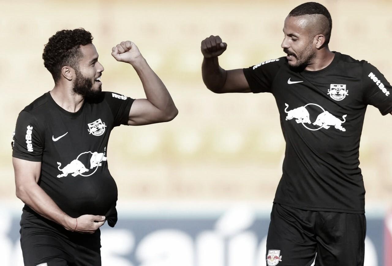"""Goleiro Julio Cesar projeta confronto do RB Bragantino com Corinthians: """"Muita qualidade"""""""