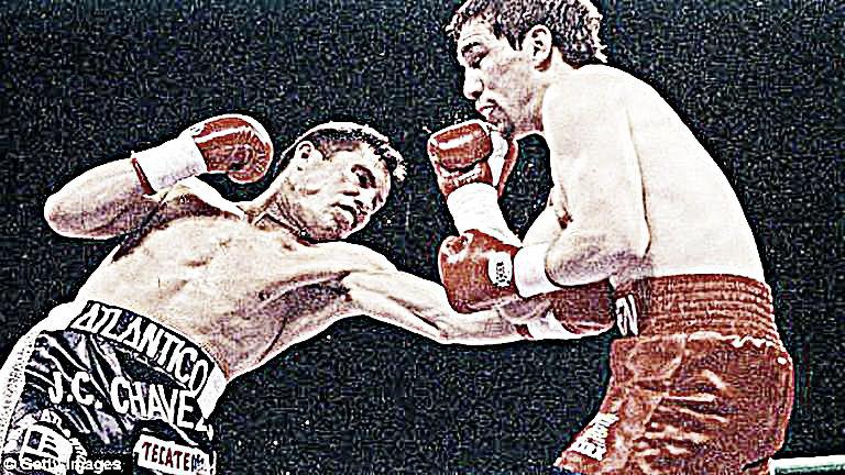 Efemeride de Boxeo: Julio César Chávez emociona a una multitud récord
