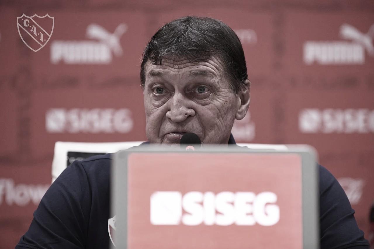 """Falcioni tras el empate de Independiente ante Boca: """"Nos hicieron 4 goles en 7 partidos"""""""