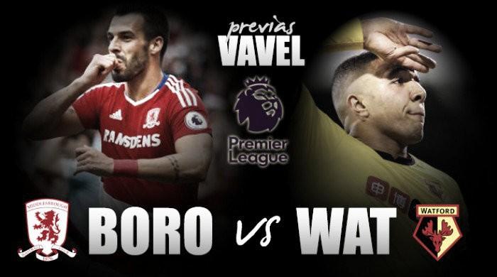 Middlesbrough - Watford: Regularidad, divino tesoro