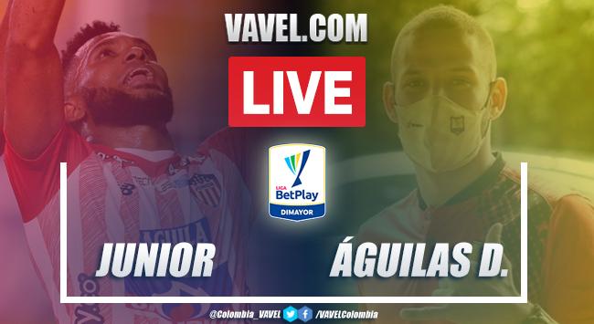 Resumen y goles: Junior vs Águilas Doradas (2-1) por la Liga BetPlay