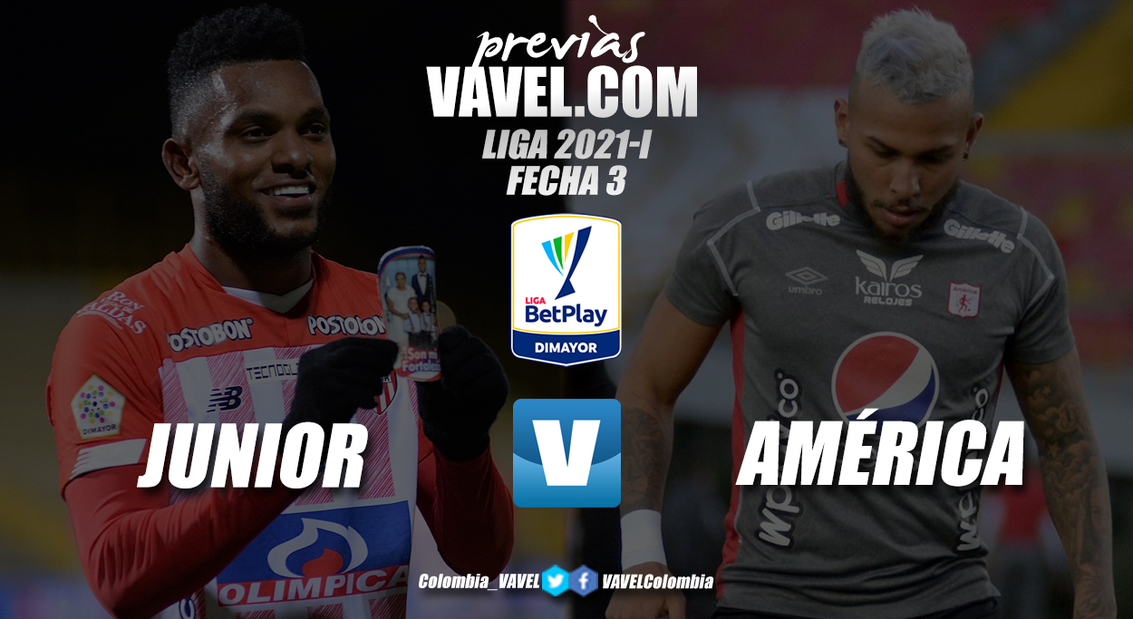 Previa Atlético Junior vs América de Cali: no es una final pero si un gran clásico