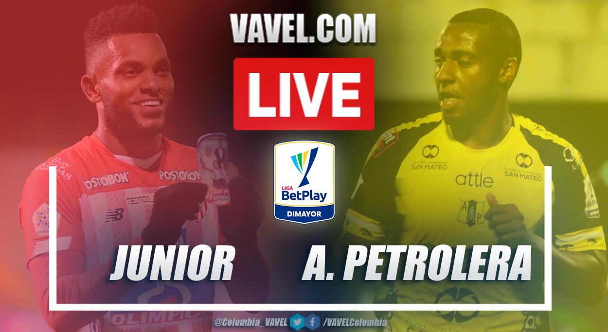Resumen Junior vs Alianza Petrolera (2-0) en la fecha 5 por Liga BetPlay 2021-I